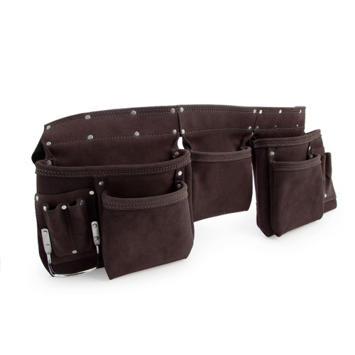 XTrade XTR0920001 Tool Apron in Suede Leather 11 Pockets - 3