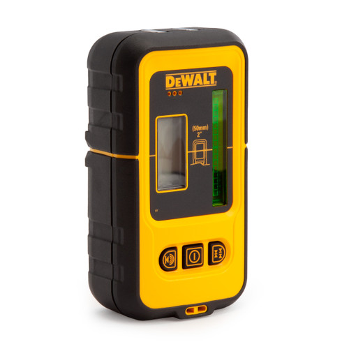 Buy Dewalt DE0892G Green Cross Line Laser Detector with 50m Range at Toolstop