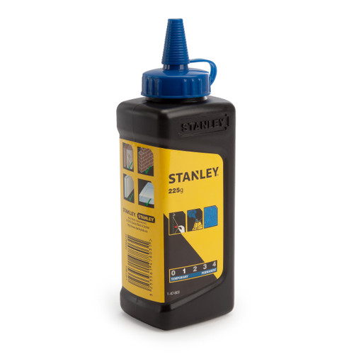 Buy Stanley 1-47-803 Blue Chalk Refill 225g / 8oz at Toolstop