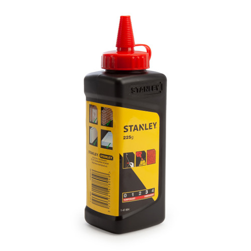 Buy Stanley 1-47-804 Red Chalk Refill 225g / 8oz for GBP4.17 at Toolstop