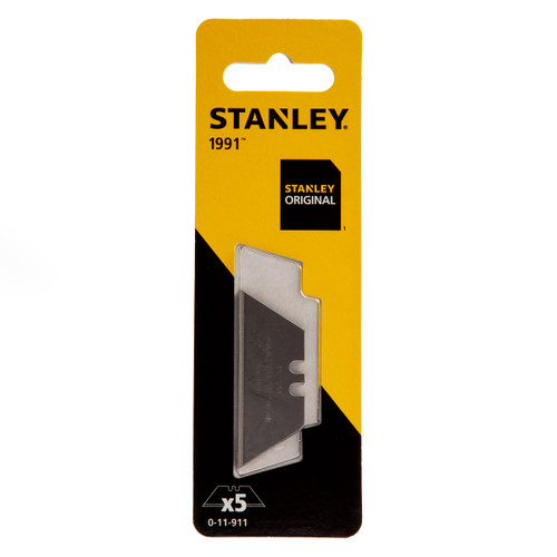 Buy Stanley 0-11-911 Standard Knife Blades (1991) - (Pack of 5) at Toolstop