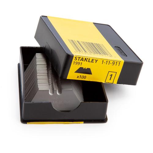 Buy Stanley 1-11-911 Standard Knife Blades (1991) - (Pack of 100) at Toolstop