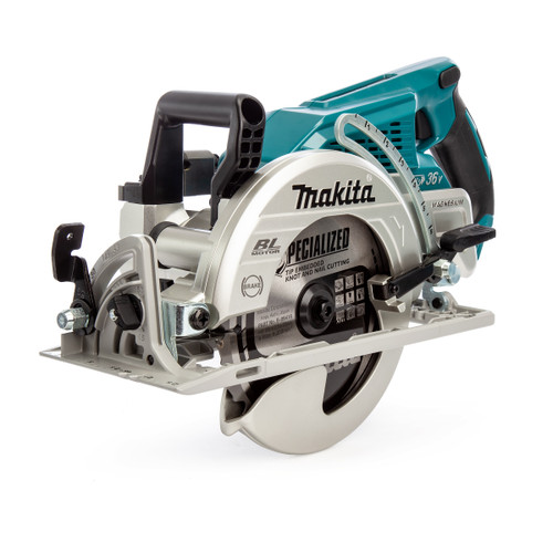 Makita DRS780Z 18V x 2 LTX Brushless Circular Saw 185mm (Body Only) - 5