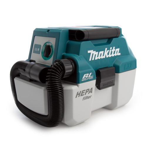 Makita DVC750LZ 18V LXT Brushless Portable Vacuum Cleaner (Body Only) - 1