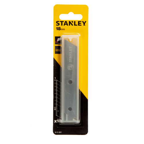 Stanley 0-11-301 Snap-Off Knife Blades 18mm (Pack of 10) - 6