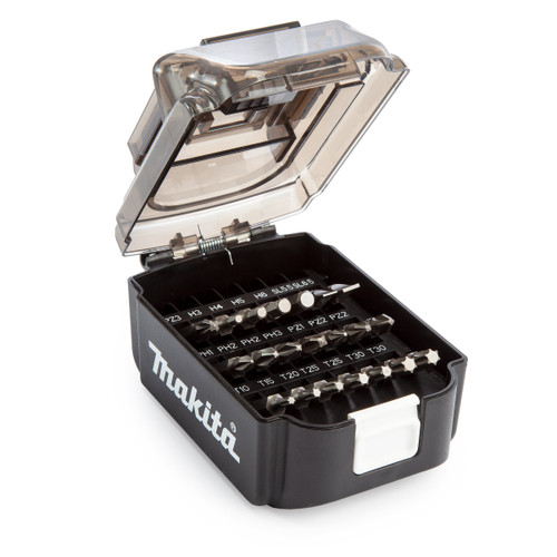 Makita B-68323 Screw Bit Set in Battery Shaped Case (21 Piece) - 1
