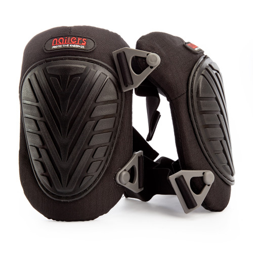 Nailers NA60100 K1 Swivel Knee Pads Buckle Fastening (Pair) - 1