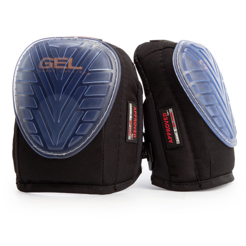 Nailers NA60200 G1 Gel Swivel Knee Pads Single Strap (Pair) - 1