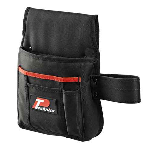 Buy Technics PT133 Nail and Tool Pouch with Hammer Loop at Toolstop