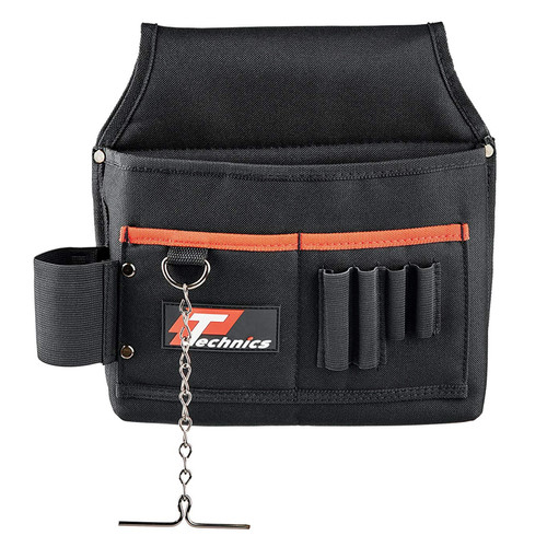 Buy Technics PT135 Electricians Tool Pouch with Tape Holder at Toolstop