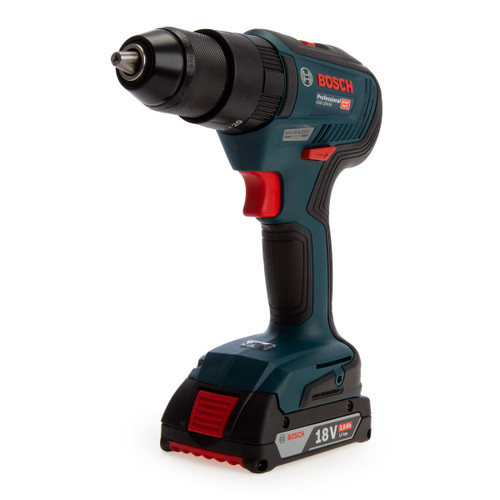 Buy Bosch GSB 18V-55 Professional Brushless Combi Drill (2 x 2.0Ah Batteries) at Toolstop