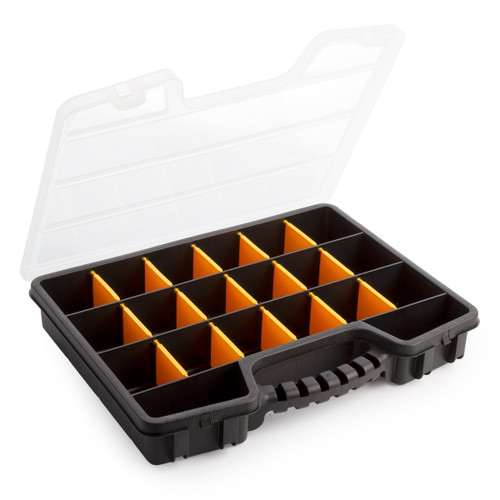 Terry TO16BLACK Pro Organiser 16 - 395mm x 295mm x 60mm - 2