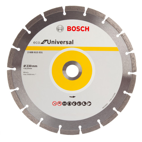 Bosch 2608615031 Eco Universal Diamond Cutting Disc 230mm - 1