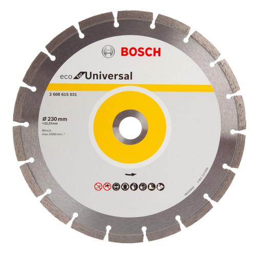Bosch 2608615031 Eco Universal Diamond Cutting Disc 230mm - 1