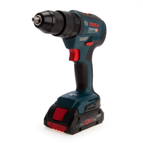 Bosch GSB 18V-55 Professional Brushless Combi Drill (3 x 4.0Ah ProCORE Batteries) - 1