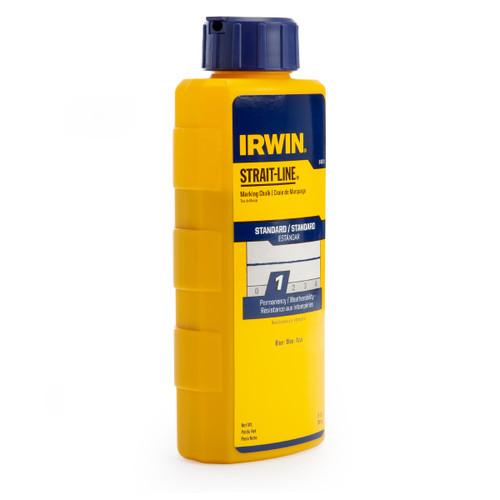 Irwin Strait-Line 64901 Standard Marking Chalk Refill in Blue 8oz / 227g - 1