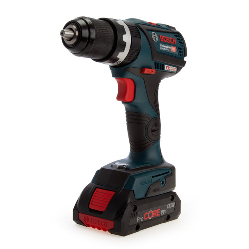 Bosch GSB 18V-60 C Professional Brushless Combi Drill (3 x 4.0Ah ProCORE Batteries) - 1