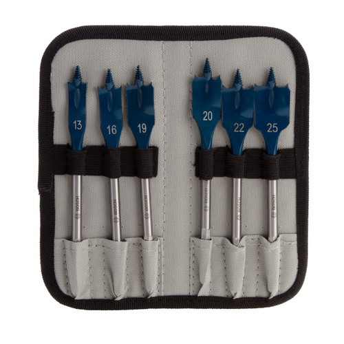 Buy Bosch 2608595425 SelfCut Speed Flat Drill Bit Set (6 Piece) at Toolstop