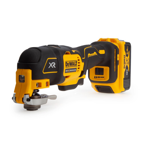 Buy Dewalt DCS356P2 18V XR Brushless Oscillating Multi Tool (2 x 5.0Ah Batteries) + 35 Accessories at Toolstop