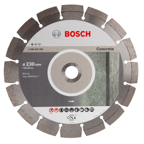 Bosch 2608602200 Standard For Concrete Diamond Cutting Disc