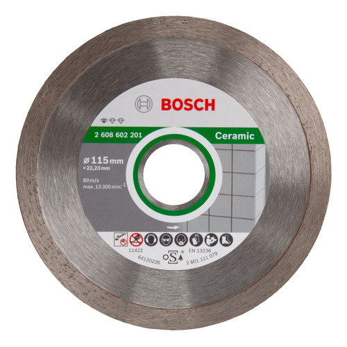 Bosch 2608602201 Standard For Ceramic Diamond Cutting Disc