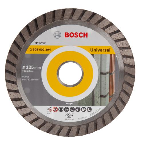 Bosch 2608602394 Standard For Universal Turbo Diamond Cutting Disc