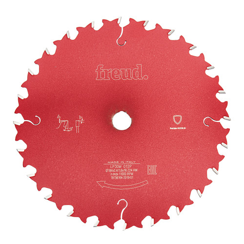 Freud F03FS03652 General Purpose Saw Blade 184 x 2.4mm x 16 x 24T
