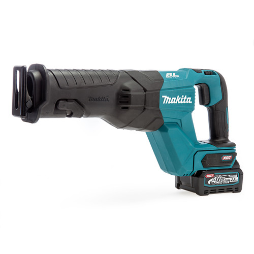 Makita JR001GD102 40Vmax XGT Brushless Reciprocating Saw (1 x 2.5Ah Battery)