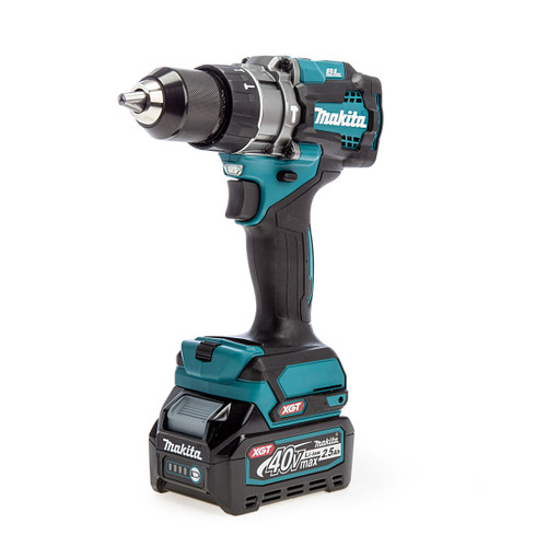 Makita HP001GD102 40Vmax XGT Brushless Combi Drill (1 x 2.5Ah Battery)