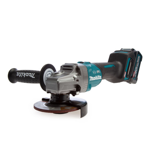 Makita GA004GD101 40Vmax XGT Brushless Angle Grinder