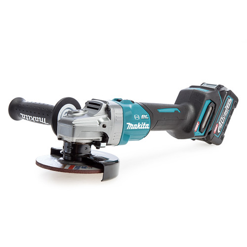Makita GA005GD101 40Vmax XGT Brushless Angle Grinder 125mm (1 x 2.5Ah Battery)