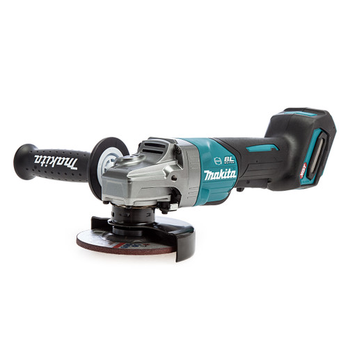 Makita GA012GZ 40Vmax XGT Brushless Angle Grinder With Paddle Switch 115mm (Body Only)