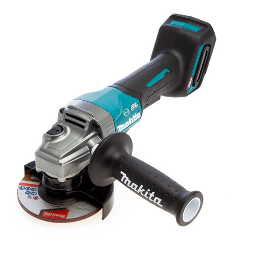 Makita GA012GZ 40Vmax XGT Brushless Angle Grinder With Paddle Switch 115mm (Body Only) 4