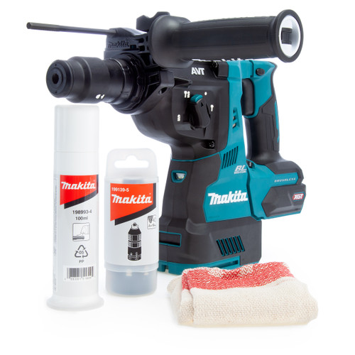 Makita HR004GZ 40Vmax XGT Brushless SDS Plus Rotary Hammer with Quick Change Chuck 2