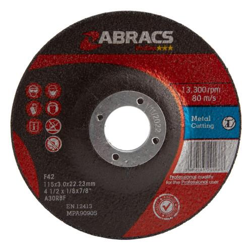 Abracs Proflex PF11530DM Metal Cutting Discs