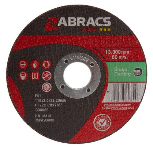 Abracs Proflex PF11530FS Flat Stone Cutting Discs