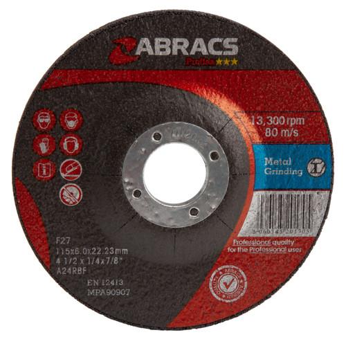 Abracs Proflex PF11560DM Metal Grinding Disc
