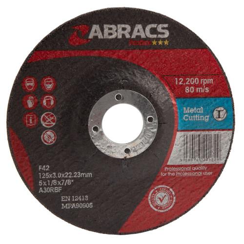 Abracs Proflex PF12530DM Metal Cutting Discs