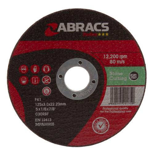 Abracs Proflex PF12530FS Flat Stone Cutting Discs