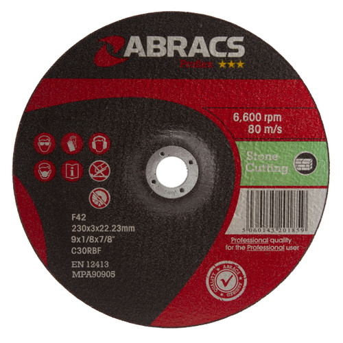 Abracs Proflex PF23030DS Stone Cutting Discs