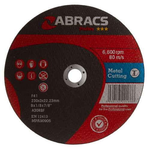 Abracs Proflex PF23030FM Flat Metal Cutting Discs