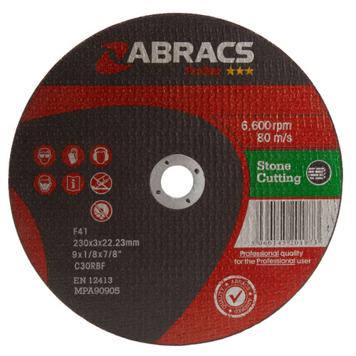 Abracs Proflex PF23030FS Flat Stone Cutting Discs