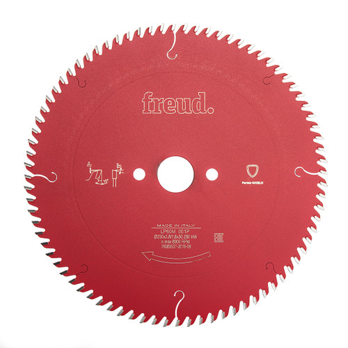 Freud F03FS03731 LP60M 001P Pro Industrial Circular Saw Blade 250 x 2.8mm x 30 x 80T