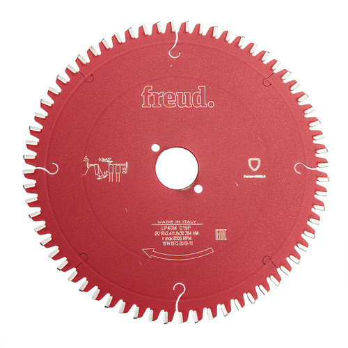 Freud F03FS03718 LP40M 019P Cross Cutting Saw Blade 216 x 2.4mm x 30 x 64T