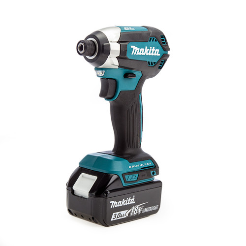 Makita DTD153RFX1 18V Li-ion Brushless Impact Driver (1 x 3.0Ah Battery)