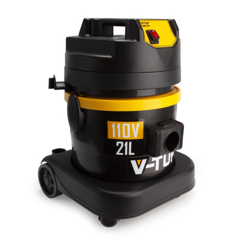 V-TUF W&D110 Heavy Industrial Wet & Dry Vacuum Cleaner