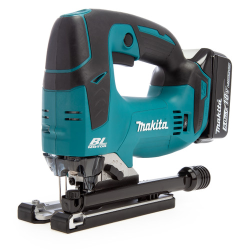 Makita DJV182RTJ 18V Brushless Jigsaw (2 x 5.0Ah Batteries)