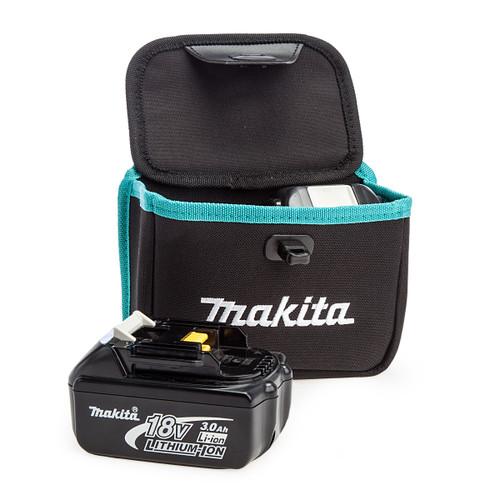 Makita 199297-7 Twin Dual Battery Pouch + 2 x BL1830B 3.0Ah Batteries