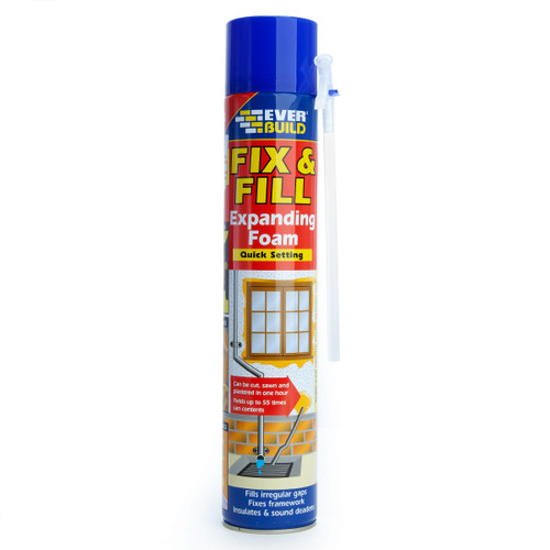 Everbuild EVFF7 Fix & Fill Expanding Foam 750ml