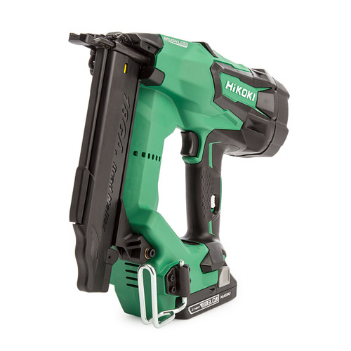 HiKOKI NT1850DE/JXZ Brushless 18GA Straight Finish Nailer (2 x 3.0Ah Batteries)